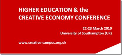 banner higher education and creative economy